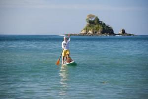 Le SUP, nouvelle tendance au Costa Rica…