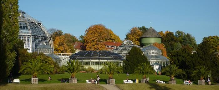 Le jardin botanique de Berlin
