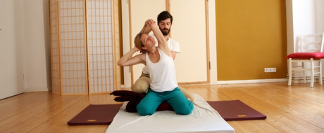 Berlin, massage et yoga