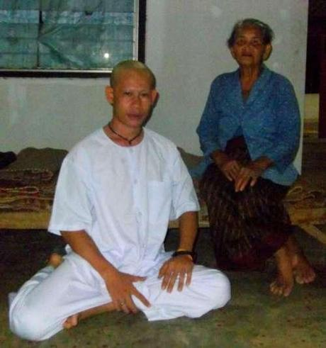 Ordination d'un moine ordinaire.