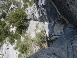 Sensations des Gorges du Verdon : Canyoning et Via Corda