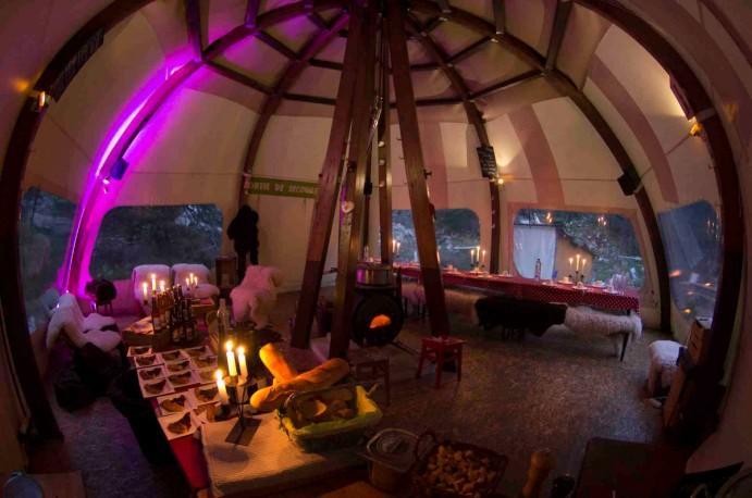 interieur-alti-dome-hiver-buffet