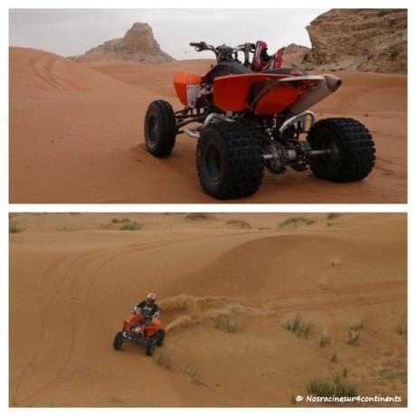 Off-Road vers Fossil Rock, désert de Dubaï - 2010
