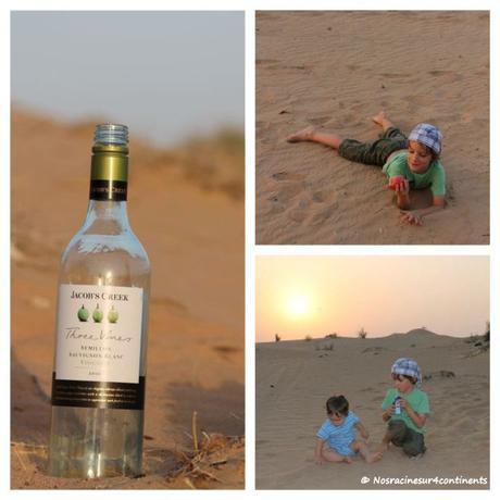 Apéro dans le désert de Dubaï - 2012