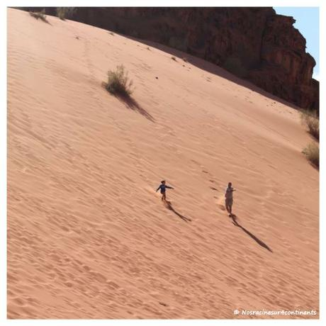 Désert rouge du Wadi Rum, Jordanie - 2012
