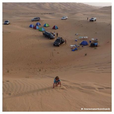 Camping dans le Désert de Liwa, Abu Dhabi - 2010