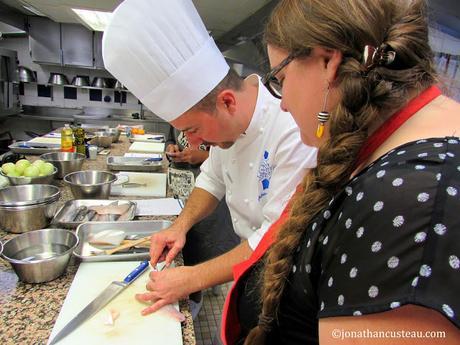 Un cours de cuisine au cordon bleu de paris - Cours de cuisine cordon bleu ...