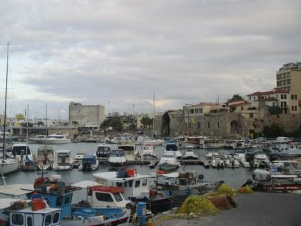 port d'Heraklion Crète