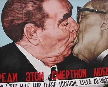 La chute du Mur de Berlin. East Side Gallery