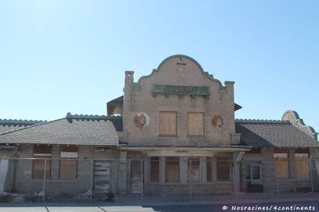 L'ancienne gare de Rhyolite, qui fut ensuite transformée en entrepôt et en casino
