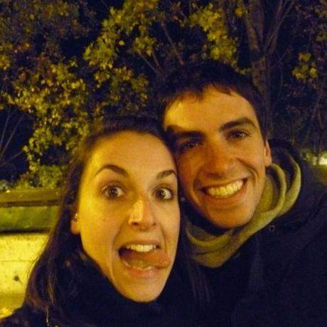 Valeria Solesin et son frère Dario
