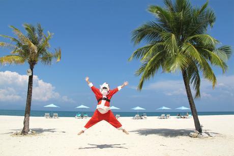 Noël à la plage