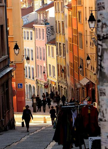 La Croix-Rousse à Lyon