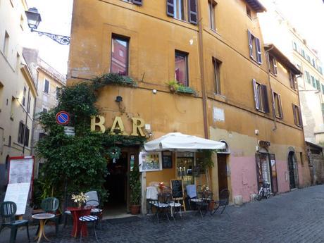 Un bar du Trastevere