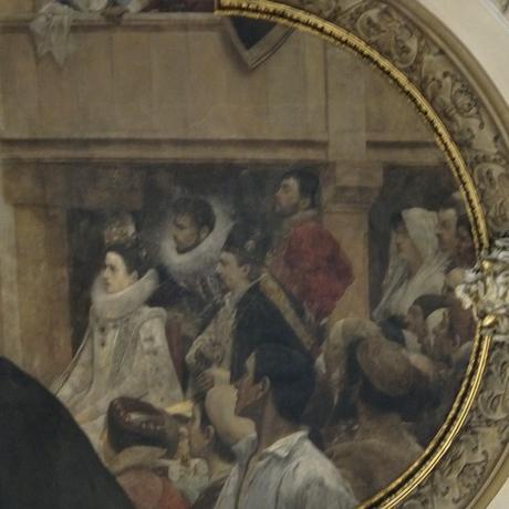 Vienne Vienna Wien Burgtheater theatre Ring visite escalier honneur autoportrait gustav klimt