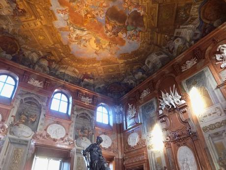 Vienne Vienna Wien Belvédère inférieur palais schloss marble hall