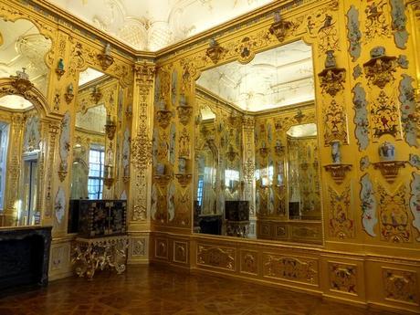Vienne Vienna Wien Belvédère inférieur palais schloss chambre dorée