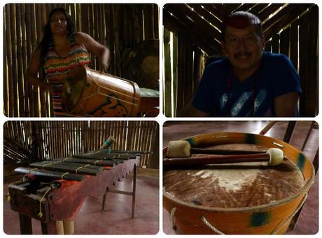 Rencontre musicale en Equateur avec les indigènes Tsáchilas