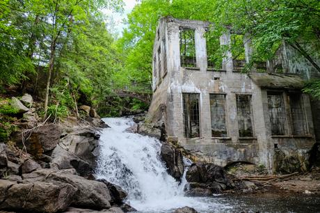 Ruines Carbide Willson - Parc de la Gatineau