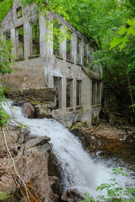 Ruine Carbide Willson - Parc de la Gatineau