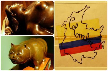 tableau et sculptures au Museo Botero de Bogotá