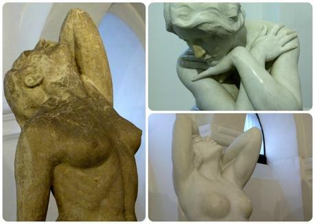 sculptures au Museo nacional de Colombia de Bogotá