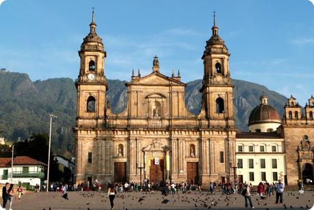 Cathédrale de Bogotá sur la Plaza Bolivar