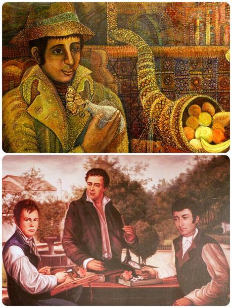 tableaus à la Casa Museo Francisco Caldas de Bogotá