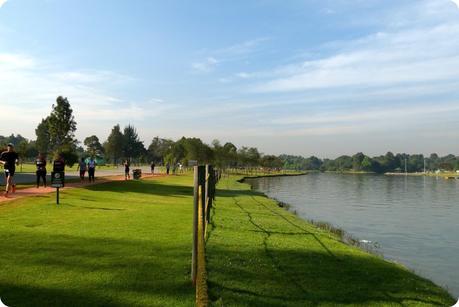 lac du Parque Metropolitano Simon Bolivar de Bogotá