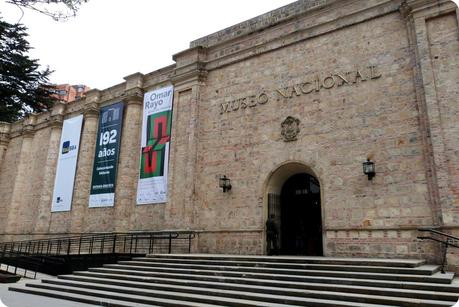 Façade du Museo nacional de Colombia de Bogotá