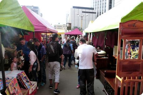 Mercado de Pulgas de San Alejo à Bogotá