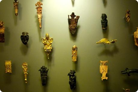figurines muisca au Museo nacional de Colombia de Bogotá
