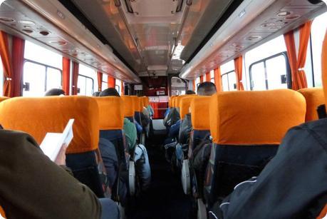 retour en bus d'Equateur vers la Colombie