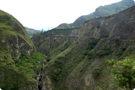 paysage du sud de la Colombie