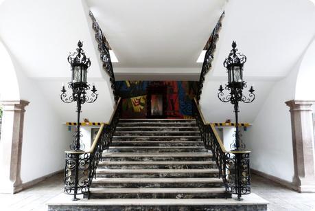 Escalier du Palacio Presidencial de Quito