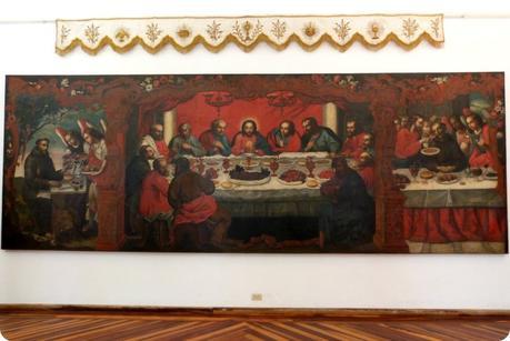 Tableau de la Cène au musée arquidiocesano de Popayán