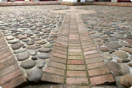 sol dans le patio du musée arquidiocesano de Popayán