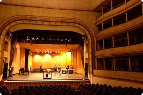 Scène du Théâtre Guillermo Valencia de Popayán