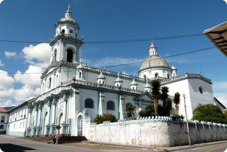 Temple San Felipe Neri de Pasto vu de côté