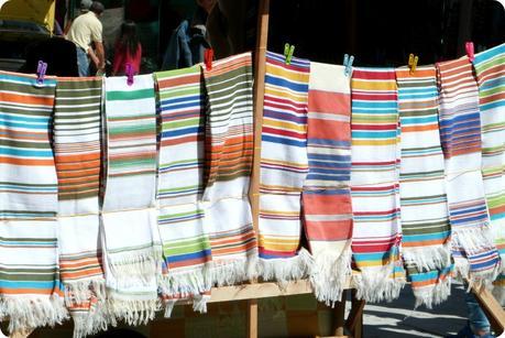 vente de ponchos à Pasto