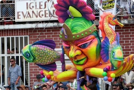 personnage au carnaval de Pasto