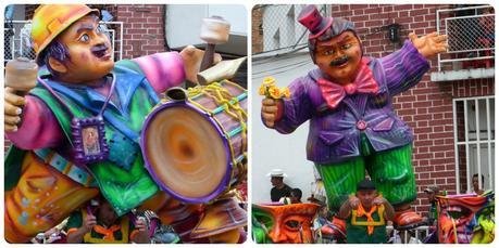 personnage au défilé du carnaval de Pasto
