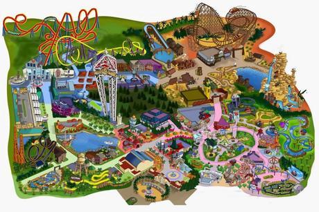 Plan Parque Warner Madrid