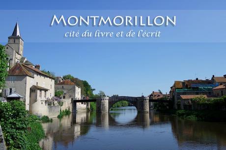 montmorillon vienne cité écrit livre église gartempe vieux pont