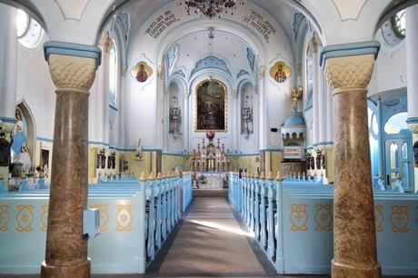 bratislava église bleue sainte elisabeth art nouveau sécession Ödön Lechner intérieur