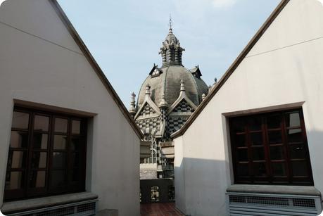 tour en haut du Palacio de la Cultura de Medellín