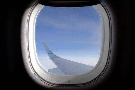 avion vue hublot