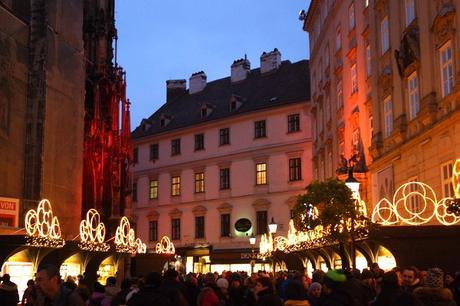 vienne vienna marché Noël weihnachtsmarkt stephanplatz