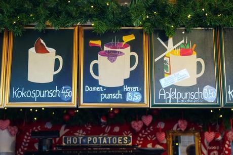 vienne vienna marché Noël weihnachtsmarkt schönbrunn punsch