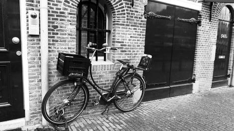 Un vélo à Amsterdam